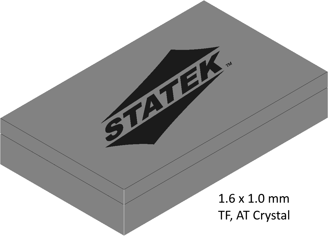 Miniaturized Crystal Oscillators